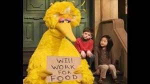 will Big bird lose his job