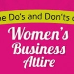 Proper Business Attire for Women- Infographic