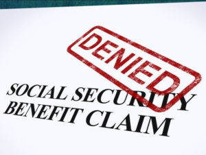 Social Security Claim Denied